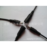 DC插头、防水DC公母对插、弯头DC线