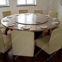 酒店电磁炉火锅桌 多人位圆桌 天然高档大理石面餐桌 热卖