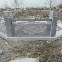 厂家直销汉白玉旗杆 青石晚霞红石料石栏杆 护城河石雕栏板地雕刻