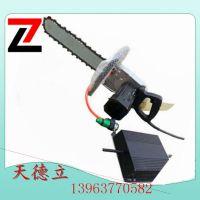 天德立220V开门用切墙电动金刚石链锯 3KW工艺品切割用电动金刚石链锯