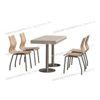 快餐店桌椅雅安快餐桌椅德克士快餐桌椅汉堡店餐桌椅