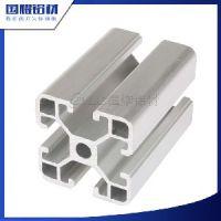 国耀铝材直销工业铝型材欧标铝型材OB-4040银白表面
