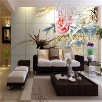 厂家专供微晶玻璃陶瓷背景墙大幅面打印机