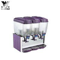 冰之乐PL-345C三缸冷热饮机/45L饮料机/ 3缸果汁机/喷淋、搅拌式
