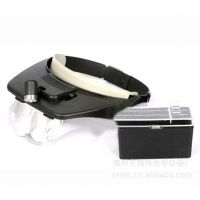 Helmet Magnifying Glass 带LED灯有头盔放大镜 MG81001 多倍率
