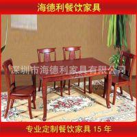 【厂家供应】高档橡木餐桌椅 实木餐桌 家用餐桌  特价特惠