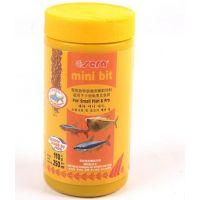 供应水族产品110克喜瑞小型鱼鱼食鱼饲料观赏鱼特级颗粒饲料0211