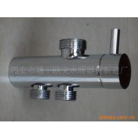 供应欧文水暖淋浴花洒水龙头分体独立支架全铜快开分水器OV-F803