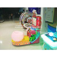 广州漫通科技厂家直销新款直销儿童游戏机投币机火焰飞车 模拟游戏机 儿童赛车机