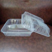 pp一次性透明塑料打包三格餐盒生产厂家