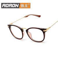 工厂直销新款男女式眼镜框时尚配镜防蓝光复古眼镜架平光镜7530K