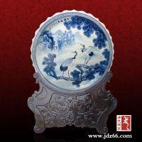 景德镇大瓷盘价格 手绘陶瓷大瓷盘 唐龙陶瓷