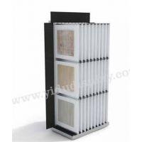 三层三排便携式瓷砖展架T531宜度
