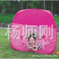 厂家直销出口产品 低价批发粉红公主儿童帐篷 郊游户外用品