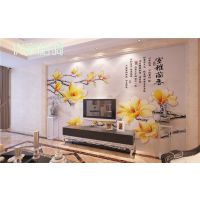无缝壁画生产厂家 客厅电视沙发背景墙壁画 个性主题壁画设计定制加工 郑州大型壁画加工厂 壁画代理加盟