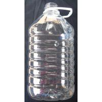 供应5L透明塑料油壶/透明塑料酒壶/塑料油瓶/酒瓶
