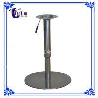 不锈钢拉丝升降桌腿桌脚吧台脚酒吧桌子腿五金配件厂家质量保证