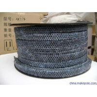 碳纤维盘根|骏驰出品浸渍四氟乳液碳化纤维盘根