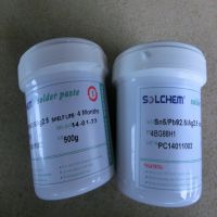 SOLCHEM高温熔点280度焊锡膏Sn5/Pb92.5/Ag2.5
