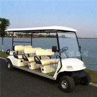 厂家直销8座电动高尔夫球车,房产看房接送车,游乐园观光车