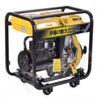开架式5KW手启动柴油发电机