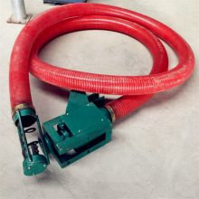 设计生产软管吸粮机 不锈钢面粉螺旋提升机 润华制作