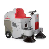 意大利高美CS 700 H汽油引擎1.3L驱动驾驶式无尘清扫车COMAO扫地车