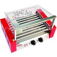 烤肠机热狗机九管烤香肠机 汇利WY-009 食品加工设备机器