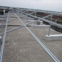 太阳能光伏支架屋顶固定式光伏电站热镀锌C型钢41X41