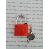 塑钢电力表箱锁 挂锁 十字塑钢锁