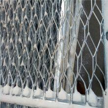 旺来铝板钢板网 圆孔钢板网 圆孔机械防护网
