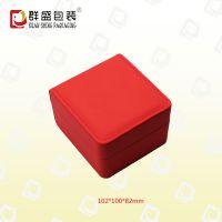 深圳厂家 红色皮革盒 精美手表盒 LOH-153