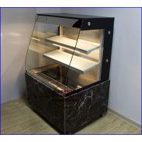 大理石/不锈钢风冷蛋糕柜 豪华鲜奶吧展示保鲜柜 温州蛋糕房冷柜
