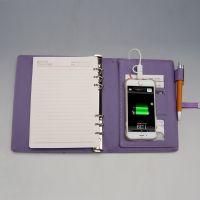 充电?视频?记事?还带U盘的活页商务笔记本,你肯定没有见过