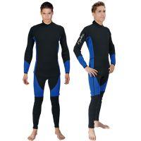 利亚通品牌潜水服 保暖长袖潜水衣 连体长袖浮潜服 5mm冬泳服定制厂家