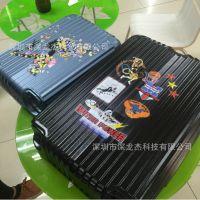 广东佛山行李箱打印机 拉杆箱定制设备 深龙杰拉杆箱打印机 小型加工项目