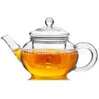 手工耐热玻璃茶壶六人壶/花茶壶/带茶漏过滤内胆泡茶壶迷你小茶壶