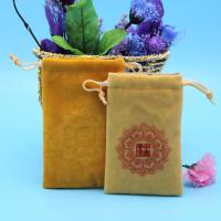 深圳厂家绒布袋 文玩袋 梳子包装袋 首饰袋 色丁内衬双层绒布袋