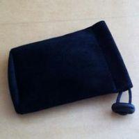 厂家批发防潮湿绸布束口袋 绒布袋