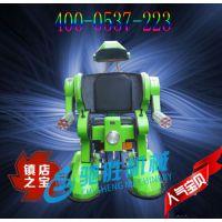 热销新款行走机器人钢铁侠 金刚侠 广场儿童户外游乐设备驰胜机械供应各种电动玩具。