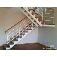 武汉楼梯,逸步楼梯,不锈钢楼梯扶手