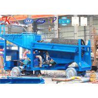 选矿机械 科大淘金设备工艺流程图