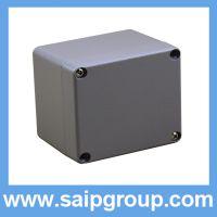 赛邦铸铝接线盒防水盒金属盒80*75*60小型配电箱端子盒铝盒子