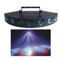 LED七眼激光灯 LED七眼灯 LED舞台灯光 追光灯 户外照明 舞台灯具 婚庆灯