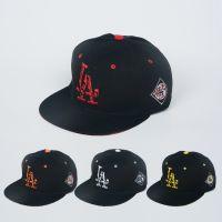 新款网面遮阳棒球帽平顶女夏男士遮阳帽韩版外贸嘻哈帽绣花LA