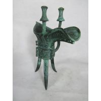 广发青铜器,妇好爵摆件,酒器,仿古工艺品,洛阳青铜器