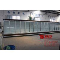 扬州超市冰柜多少钱 超市推拉门饮料冰柜