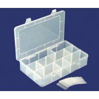 厂家直销15格电子元件盒 零件盒 收纳盒 螺丝盒 透明PP塑料盒B212