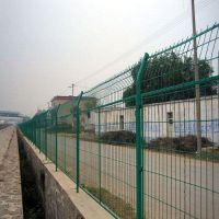 鸿德厂区隔离防护网@嵩明县货站隔断框架围栏@厂区车间隔离围网