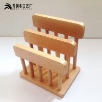 乔创木制榉木厨房砧板架 菜板架 置物架